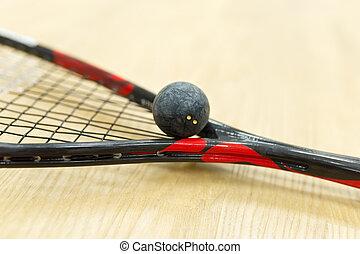 equipo, Primer plano,  Racquetball