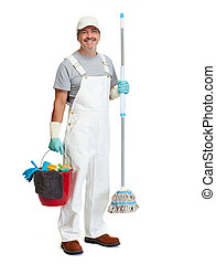 Cleaner man