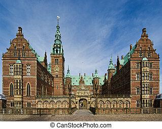 Frederiksborg Slot, Denmark castle near Copenhagen