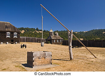 Fort Ross in California