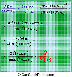 Mathematical differential expressio