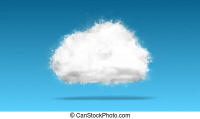 Cloud computing / technology concept - Cloud computing /...