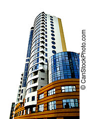 The modern building - The modern habitant building of many...