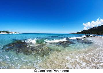 Crystal Waters of Corsica Coast, France - Crystal Waters of...