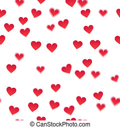 Heart background - Heart background. White background with...