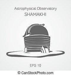 Astrophysical observatory Shamakhi. Azerbaijan.