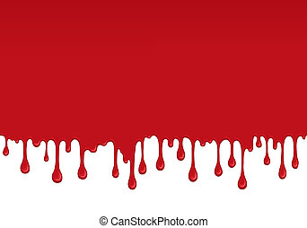 Background with drips of blood. - Background with drips and...