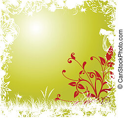 Abstract floral background. Can be