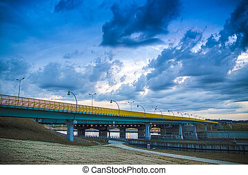 Bridge over the Vistula