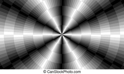 Graphic2-38 - Motion background with moving geometric shapes...