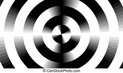 Graphic2-40 - Motion background with moving geometric shapes...