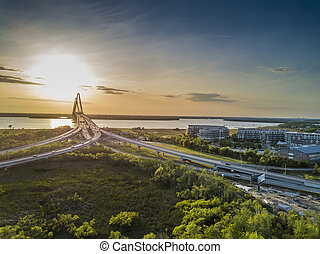 Arthur Revenel Bridge - The Arthur Ravenel Jr. Bridge over...
