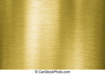 gold metal plate - Gold brushed metal texture or background