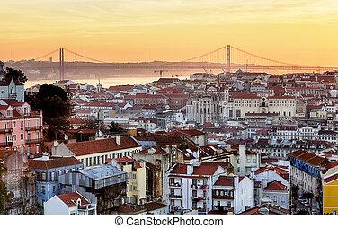 Lisbon - Lisboa cityscape, Portugal