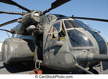 military helicopter - MH-53E Sea Dragon military helicopter...