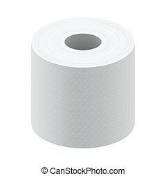 White blank thermal fax paper roll