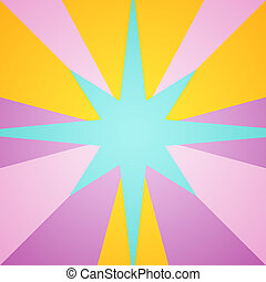 star shape color spectrum - the star shape of colorful...