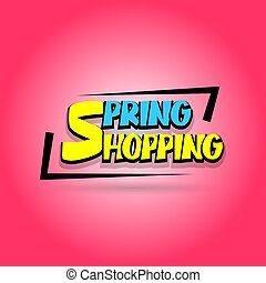 Sale super label discount Spring shopping