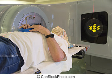 Radiation Therapy Patient