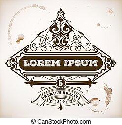 Vintage label premium