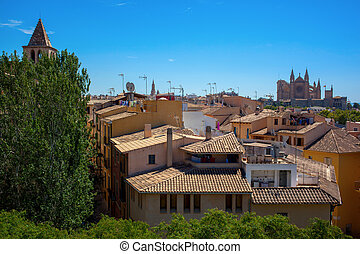 View on Palma de Mallorca