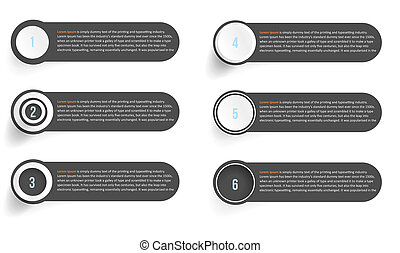 background options banner. illustration white and circles.