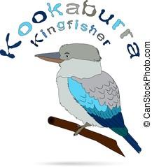 Image Laughing bird - Laughing bird. Australian kookaburra....