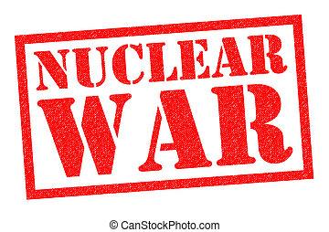 gummi, nukleär, krig, stämpel