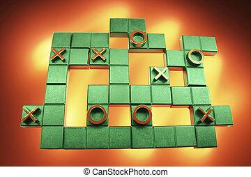 Tic TacToe Puzzle