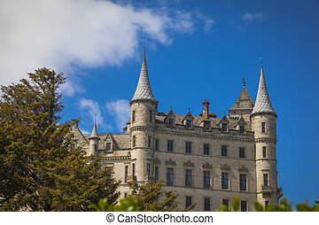 Dunrobin castle and grounds, Sutherland, Scotland