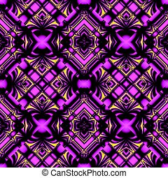 seamless pattern in magic colors - stylized magical purple...