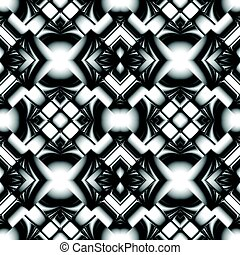 Black and white seamless pattern - black and white seamless...