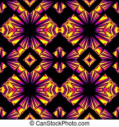 seamless pattern in magic colors
