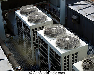 HVAC - An heating ventilation and air conditioning device