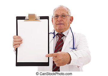 Expertise Doctor - expertise doctor older man isolated on...