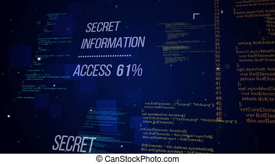 """Secret Information Access. Security concept."" - ""Secret..."