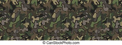 seamless military camouflage pattern