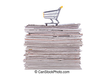 Buying information - Shopping cart to buy the latest news...