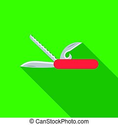 Knife icon of vector illustration for web and mobile design