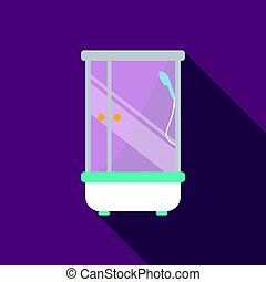 Bath icon of vector illustration for web and mobile