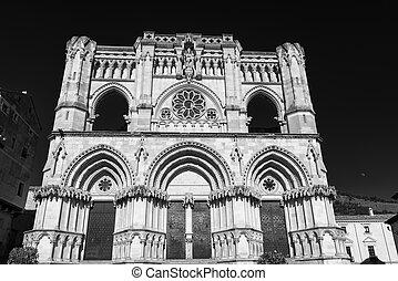 Cuenca (Spain), cathedral - Cuenca (Castilla-La Mancha,...