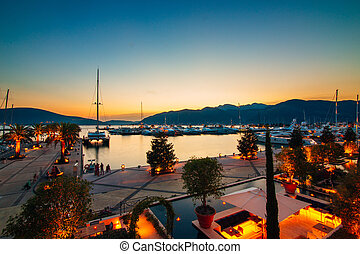 Elite marina for super yachts in Montenegro - Porto...