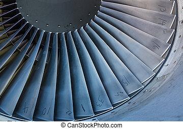 Jet Intake Blades