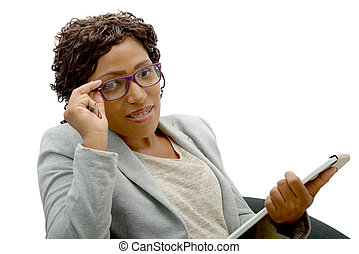 portrait of an african american businesswoman