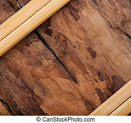 Background of old wood, texture.