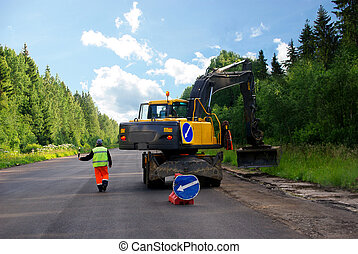 Highway building - Building and accomplishment of new...