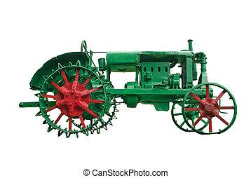 紋章,  -, を過ぎて, 時, 農業, トラクター