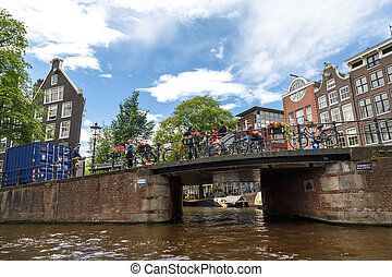 Amsterdam Bridges on Canals