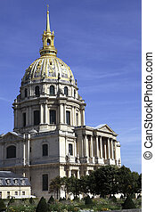 Les Invalides - High resolution picture of Les Invalides...