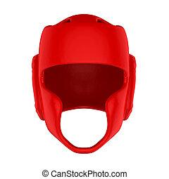 Boxing Headgear Isolated - Boxing Headgear isolated on white...